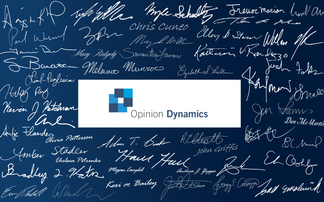 A message from Opinion Dynamics